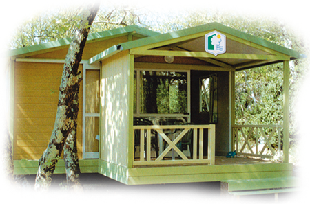 Chalet Moréa - locatif du camping de l'étang des Forges à Belfort