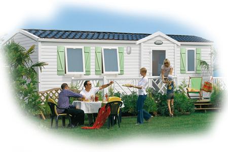 Mobil-home Supertitania - locatif du camping de l'étang des Forges à Belfort