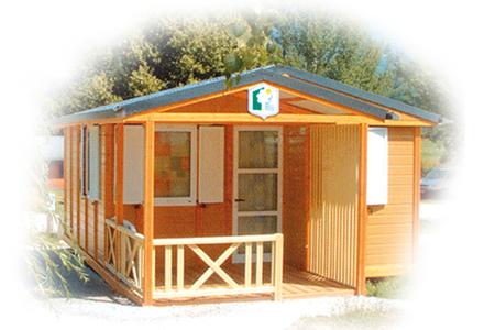 Chalet Trianon - locatif du camping de l'étang des Forges à Belfort