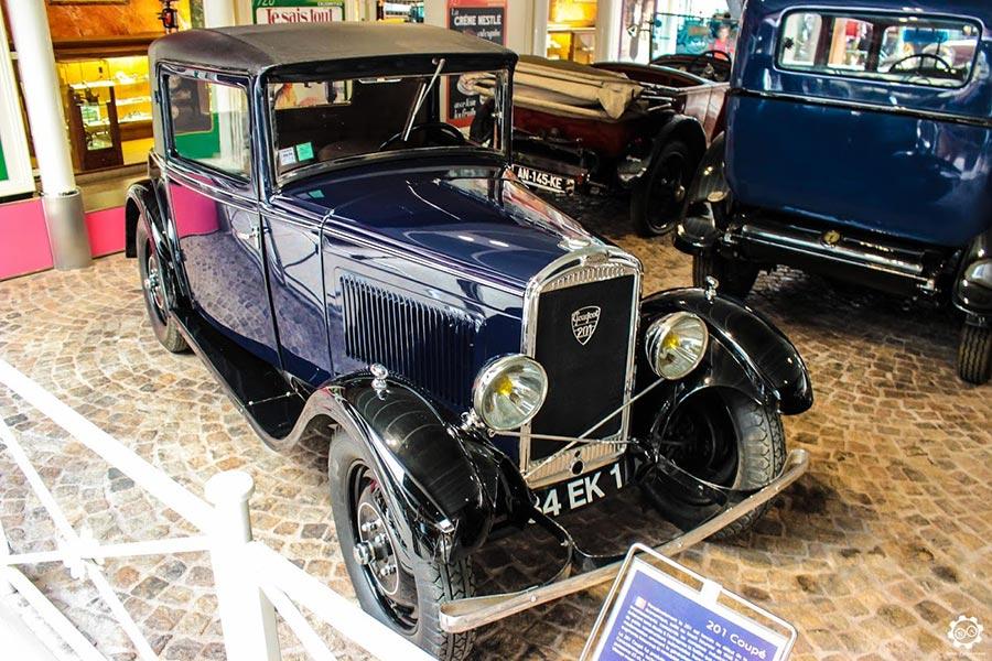 Visite du Musée de l'aventure Peugeot