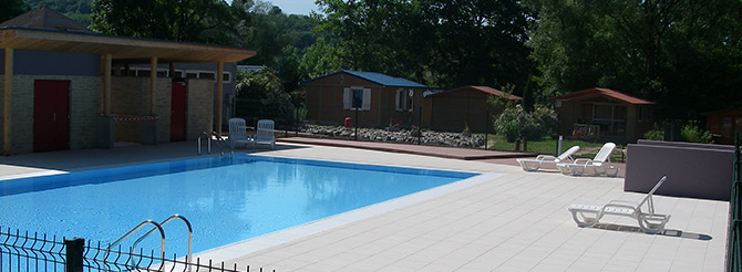 Piscine chauff e camping etang des forges belfort for Piscine 1m20