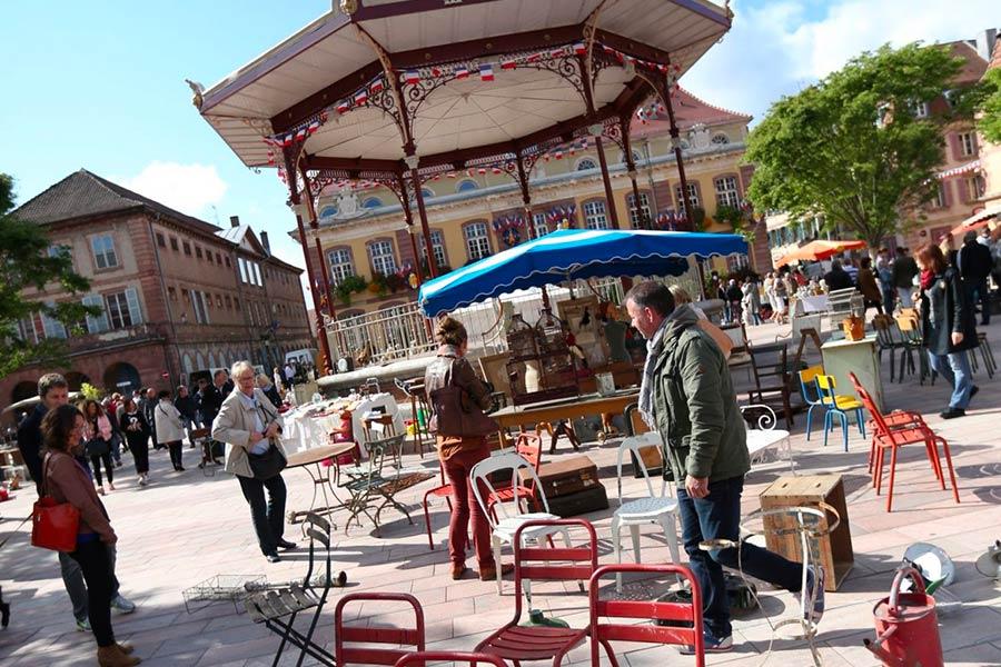 marché aux Puces de Belfort tous les premiers dimanches du mois
