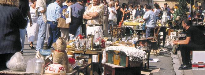 le marché aux puces de Belfort