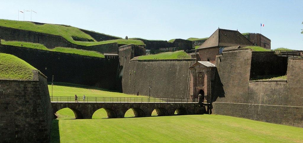 la citadelle fortifiée Vauban de Belfort