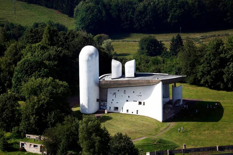 La Chapelle de Ronchamps Le Corbusier