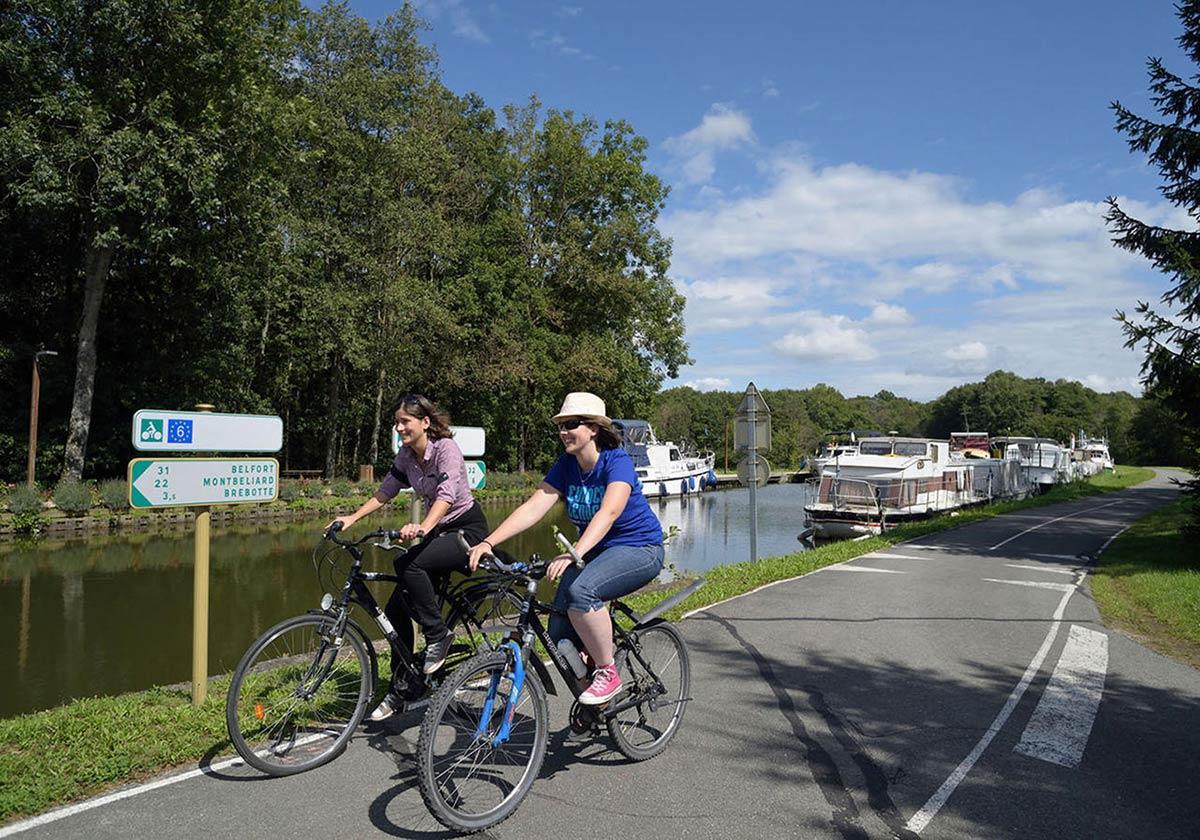 70 kms de boucles cyclables dans le Territoire de Belfort