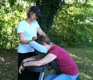 CapZen Massage Relaxation offerts aux clients du camping