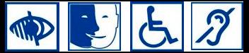 handicap visuel, mental, moteur, sonore