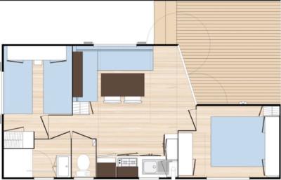 Plan d'aménagement du Mobilhome-Ohara