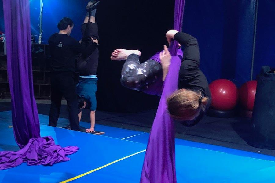 initiation au cirque pour toute la famille