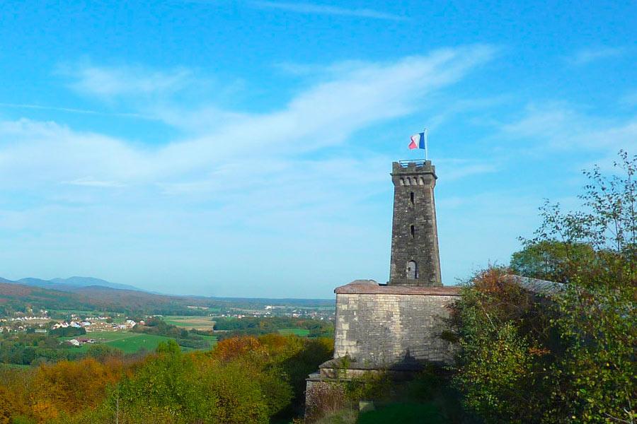 visite du fort de la Miotte à Belfort