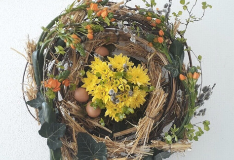 atelier floral pour toute la famille